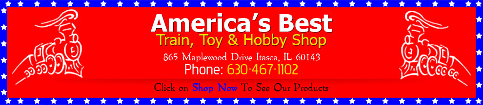America s best train toy hobby shop for Americas best storage