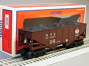 16498 New York Central 2-Bay Hopper (Brown)