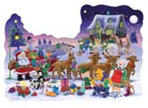 05379 The Night Before Christmas Floor Puzzle