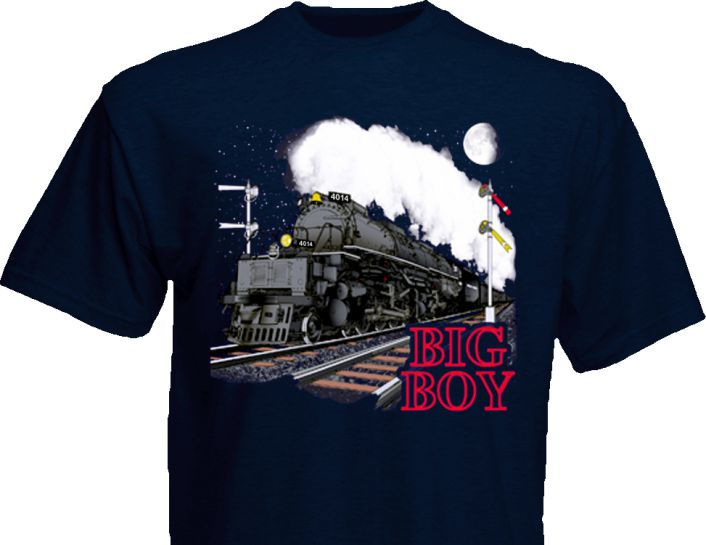 10140 Union Pacific Big Boy T-Shirt Youth Large