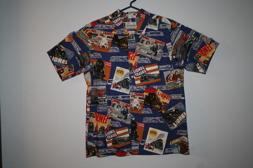 "1067AM Lionel ""Hawaiian"" Style Print Shirt"