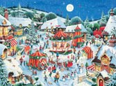 12673 The Christmas Fair 200 Piece Christmas Puzzle