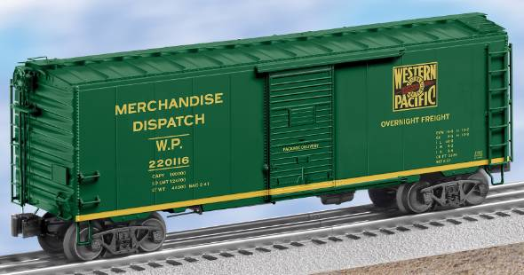 27251 Western Pacific Express Boxcar
