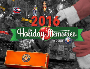 2016 Lionel Holiday Memories Catalog