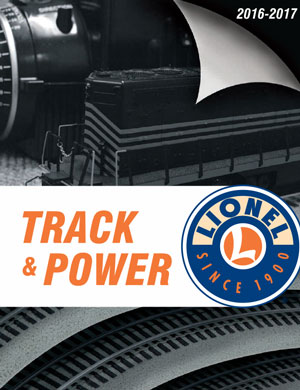 2016-17 Lionel Track & Power Catalog