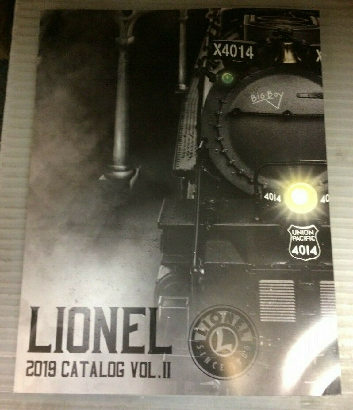 A New Lionel Catalog for 2019