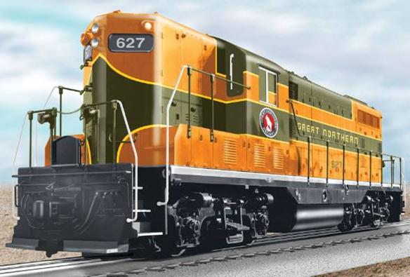 28564 Great Northern Non-Powered GP7 Diesel #627