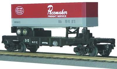 30-7608 New York Central w/Pacemaker Trailer