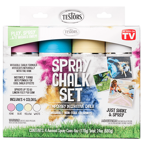 306006 Spray Chalk Set 4 Color Set