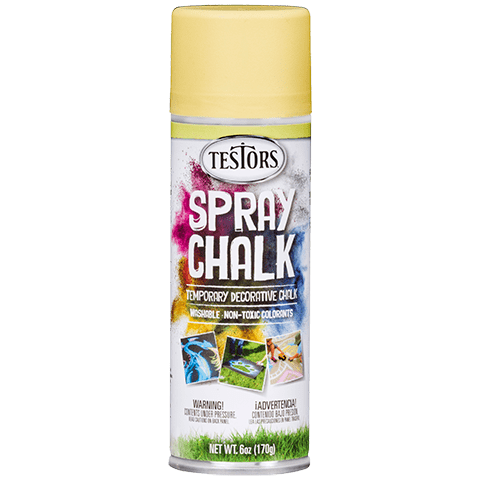 307591 Spray Chalk Yellow