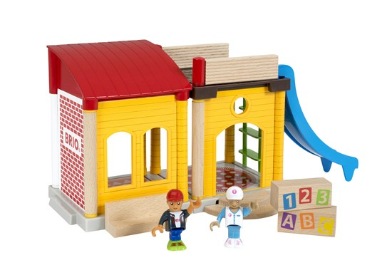 33943 Village School Playset