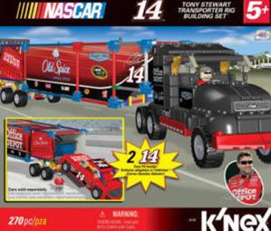 36160 #14 Office Depot Transporter Rig Building Set