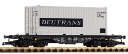 37713 DR IV Flat with Deutrans 20' Container