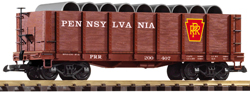 38724 Pennsylvania High-Side Gondola w/ Pipe Load