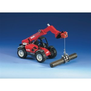 02126 Manitou Teleskopic Loader MLT 633 w/ Accessories D