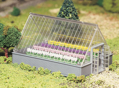 45615 Greenhouse with Flowers