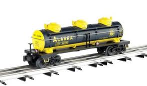 47112 Alaska Three-Dome Tank Car