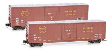 511 00 092 Wisconsin Central 50' Rib Side Box Car, Plug Door
