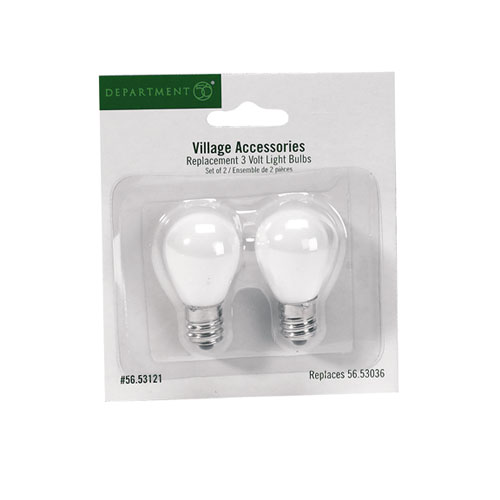 56.53121 Replacement Bulbs 3 volts