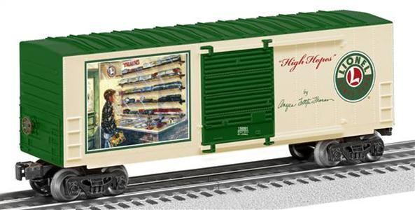 "15091 Angela Trotta Thomas ""High Hopes"" Hi-cube Boxcar"