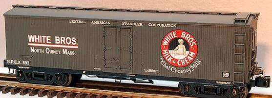 17369 White Brothers General American Milk Car #893