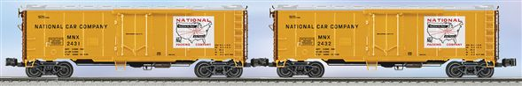 21941 National Steel-sided Refrigerator Car 2-Pack