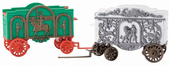 22346 Knight & Animal Tableau Circus Wagons