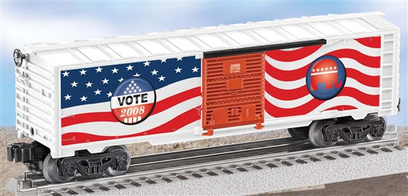 25060 Republican 2008 Election Box Car
