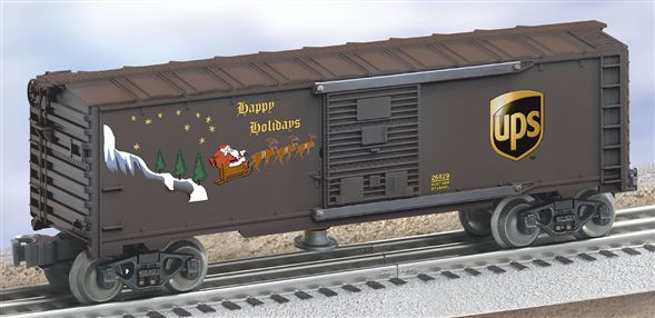 26829 U.P.S. Operating Holiday Box Car