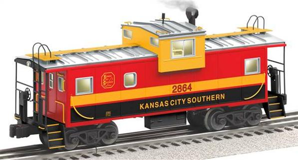 27661 Kansas City Southern Extended Vision Caboose