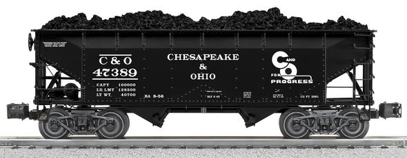 27973 Chesapeake & Ohio Scale Offer Hopper 3-Pack