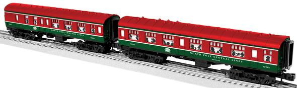 35250 North Pole Express Passenger Car 2-Pack