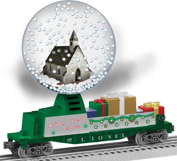 37059 Christmas Snow Globe Car