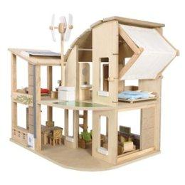 7156 Green Dollhouse with Furniture