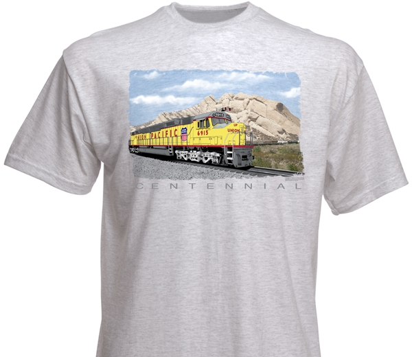 73 Union Pacific Centennial Adult T-Shirt X-Large
