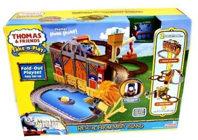 R9623 Thomas & Friends™ Take N Play™ Rescue from Misty Island -