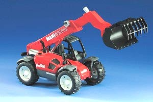 02125 Manitou Telescopic MLT 633 Loader