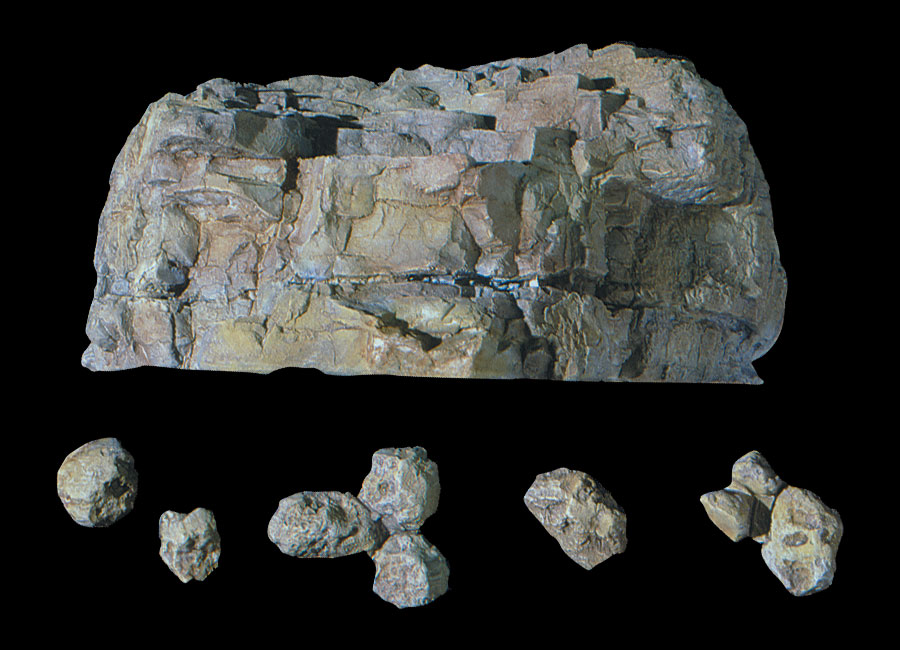 Woodland Scenics C1230 Terrain System Outcroppings Rock Mold