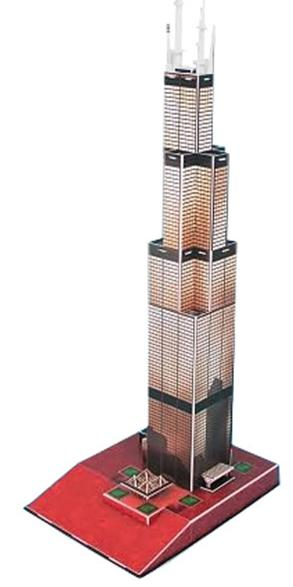 3D Willis/Sears Tower