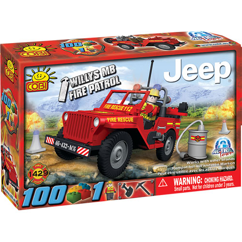 1429 Fire Rescue Jeep