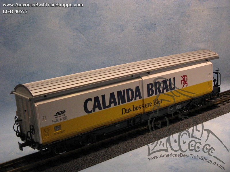 40575 Calanda Brau Sliding Wall Car