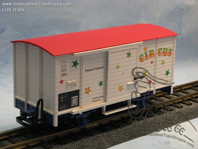 4136S Circus Boxcar with Sound