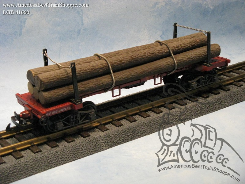 41660 West Side Lumber Co. Log Car