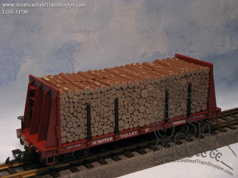 43780 Sumpter Valley PulpWood Car