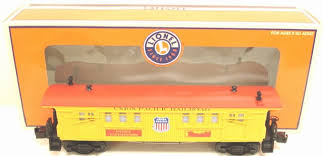 15166 Union Pacific Baggage Car with Steam Whisle Sounds