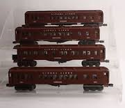 19074 Lionel Lines Madison Set - 4 Piece Passenger Set
