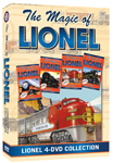 MLTBOX Magic of Lionel 4-DVD Boxed Set