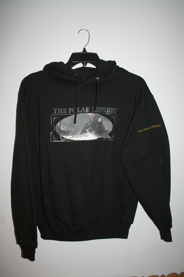 Polar Express Hooded Sweatshirts