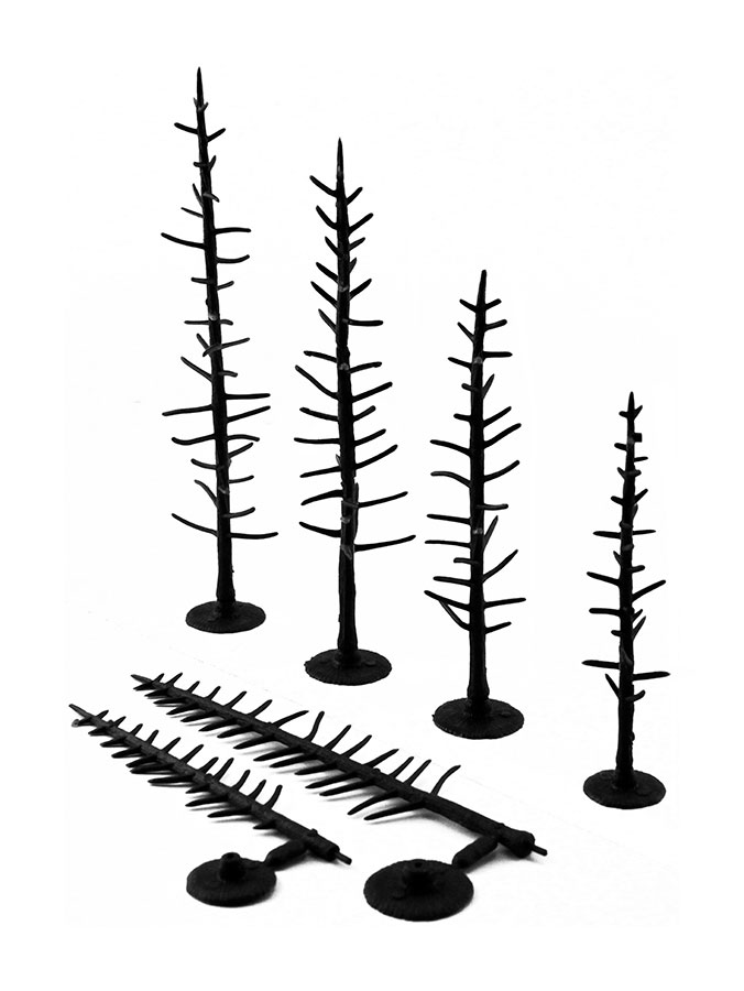 "TR1125 4"" to 6"" Armatures (Pine)"
