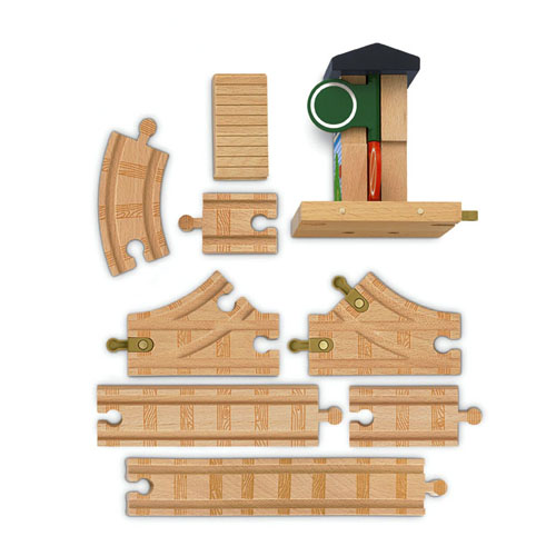 Y4413 Thomas Wooden Railway Deluxe Figure 8 Expansion Track Pack